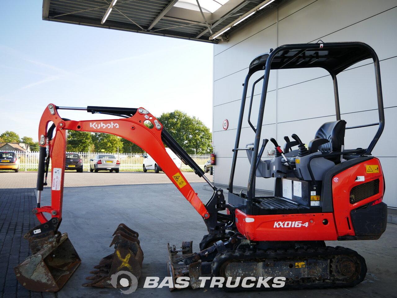 foto de Usado Máquinaria de construcción Kubota KX016-4 Track 2015