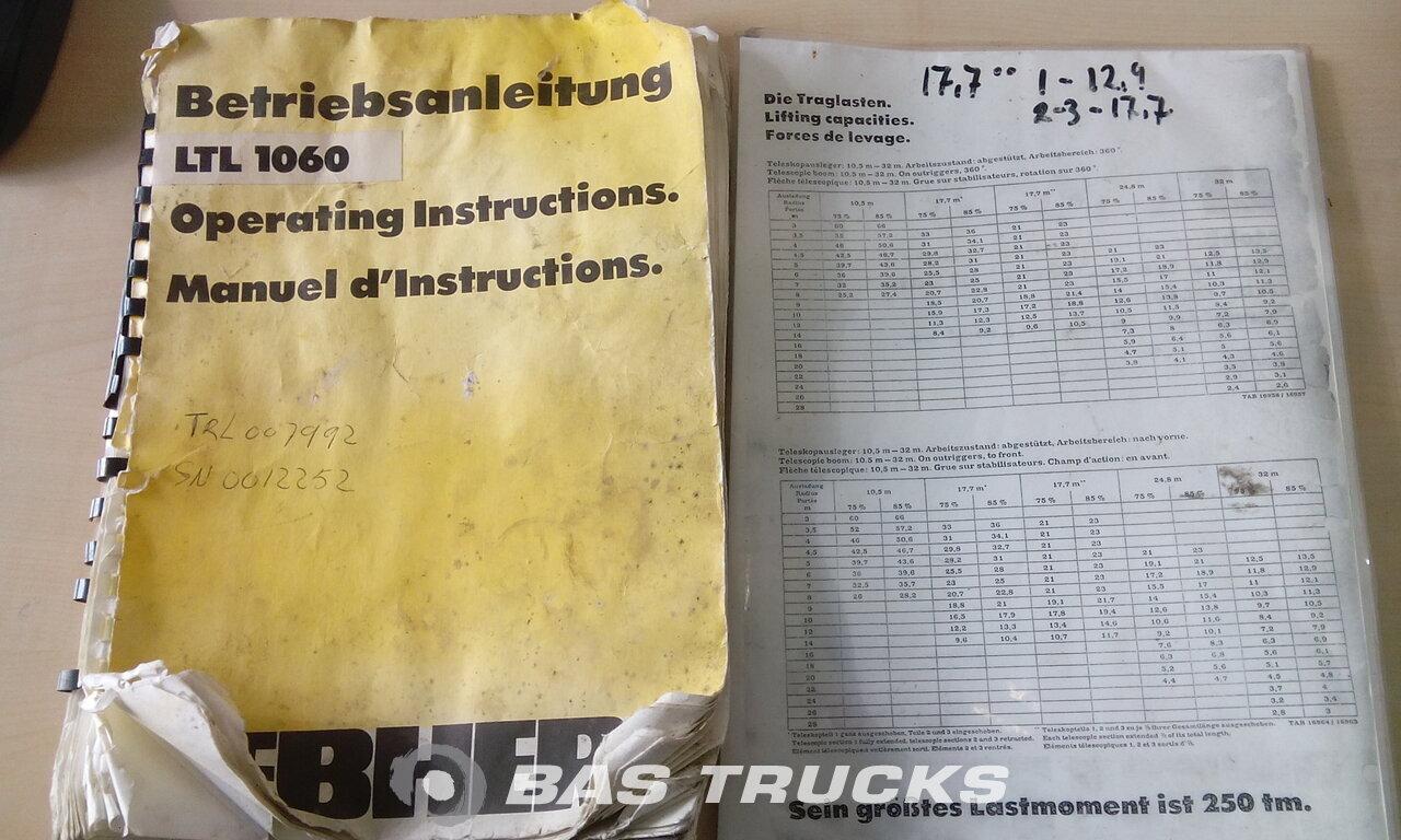foto de Usado Máquinaria de construcción Liebherr LTL1060 4X4 1984