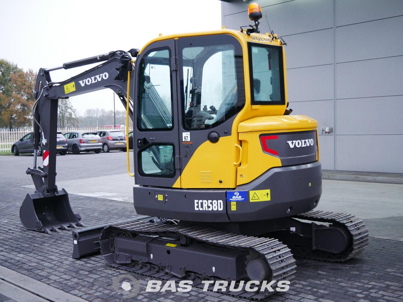 foto de Usado Máquinaria de construcción Volvo ECR58D Track 2018