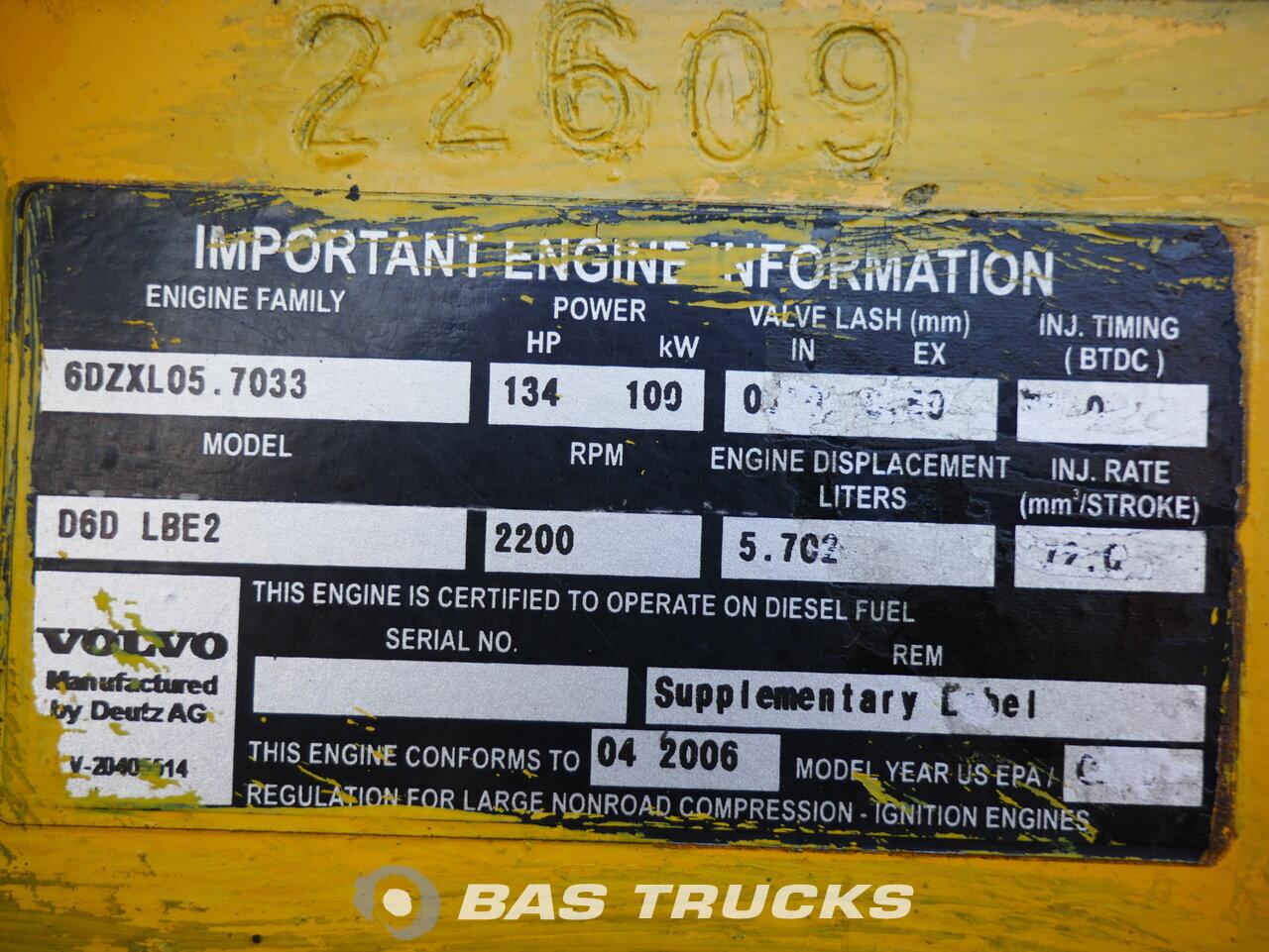 foto de Usado Máquinaria de construcción Volvo L70E 4X4 2006