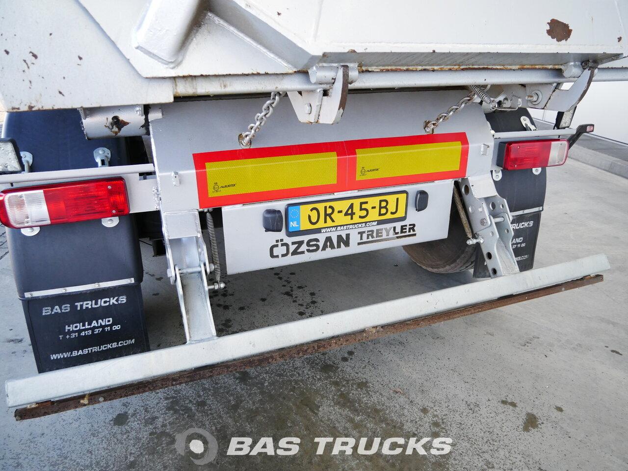 foto de Usado Semirremolque Ozsan 24m3 Stahlkipper NEW Unused SAF Wabco Liftachse Ejes 2017