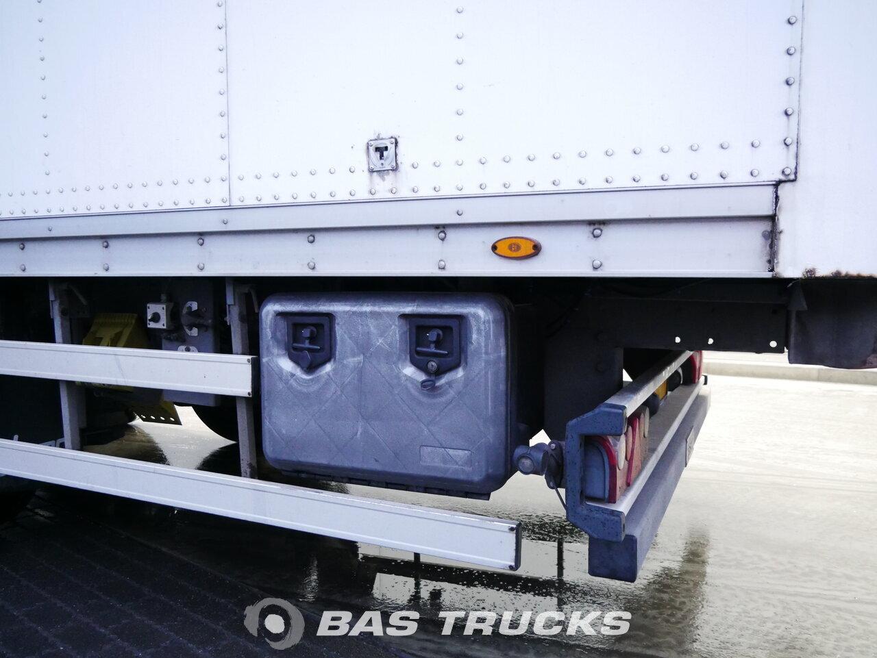 foto de Usado Semirremolque Talson F1520 SAF Double Doors - Durchlade Ejes 2009