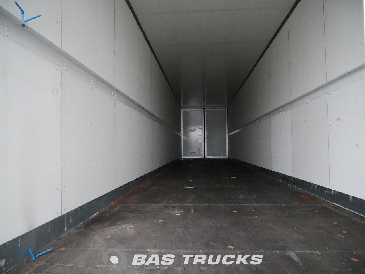 foto de Usado Semirremolque Talson F1520 SAF Double Doors - Durchlade Ejes 2011
