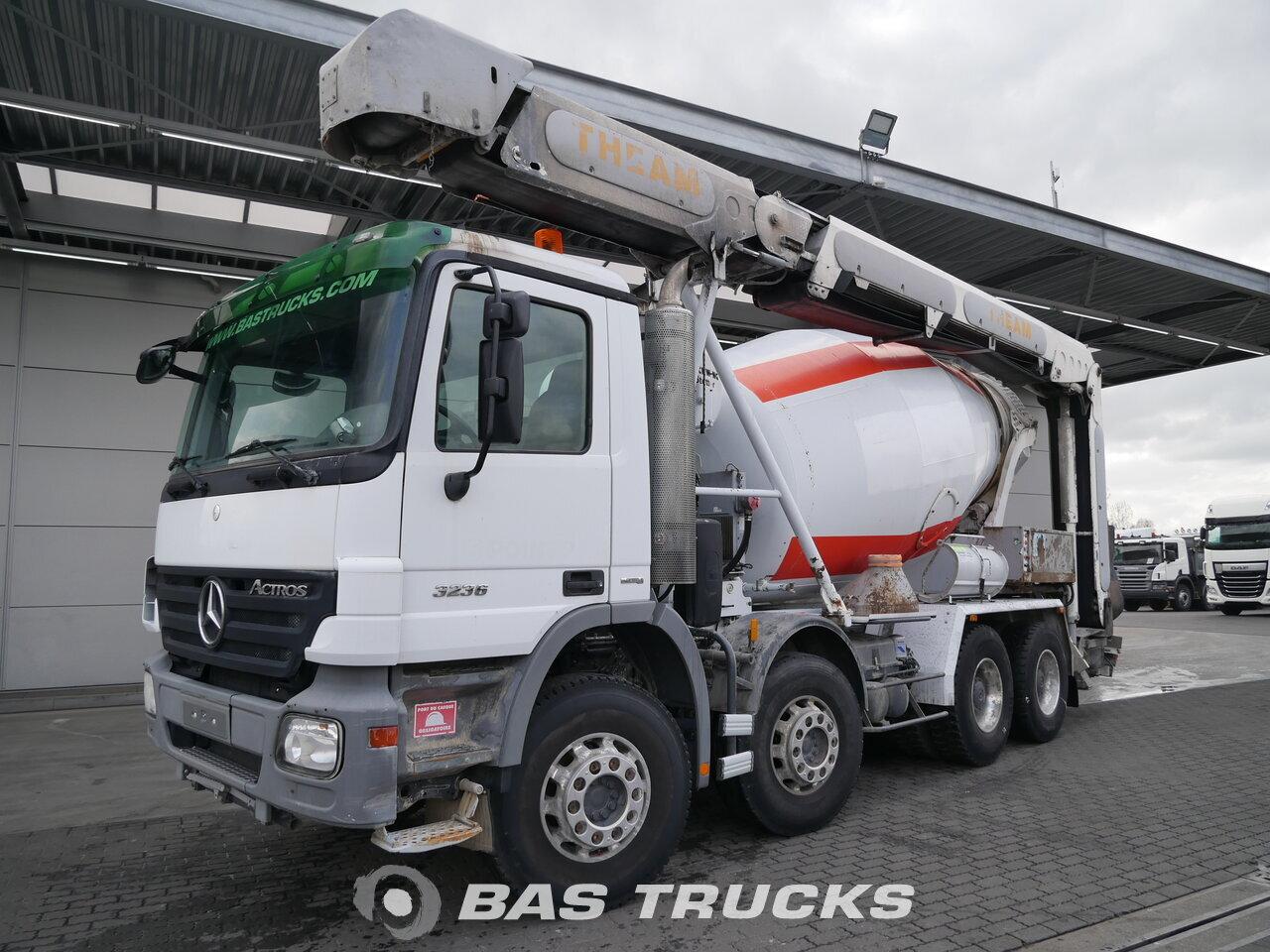 mercedes actros 3236 b camion euro 4 40400 bas trucks. Black Bedroom Furniture Sets. Home Design Ideas