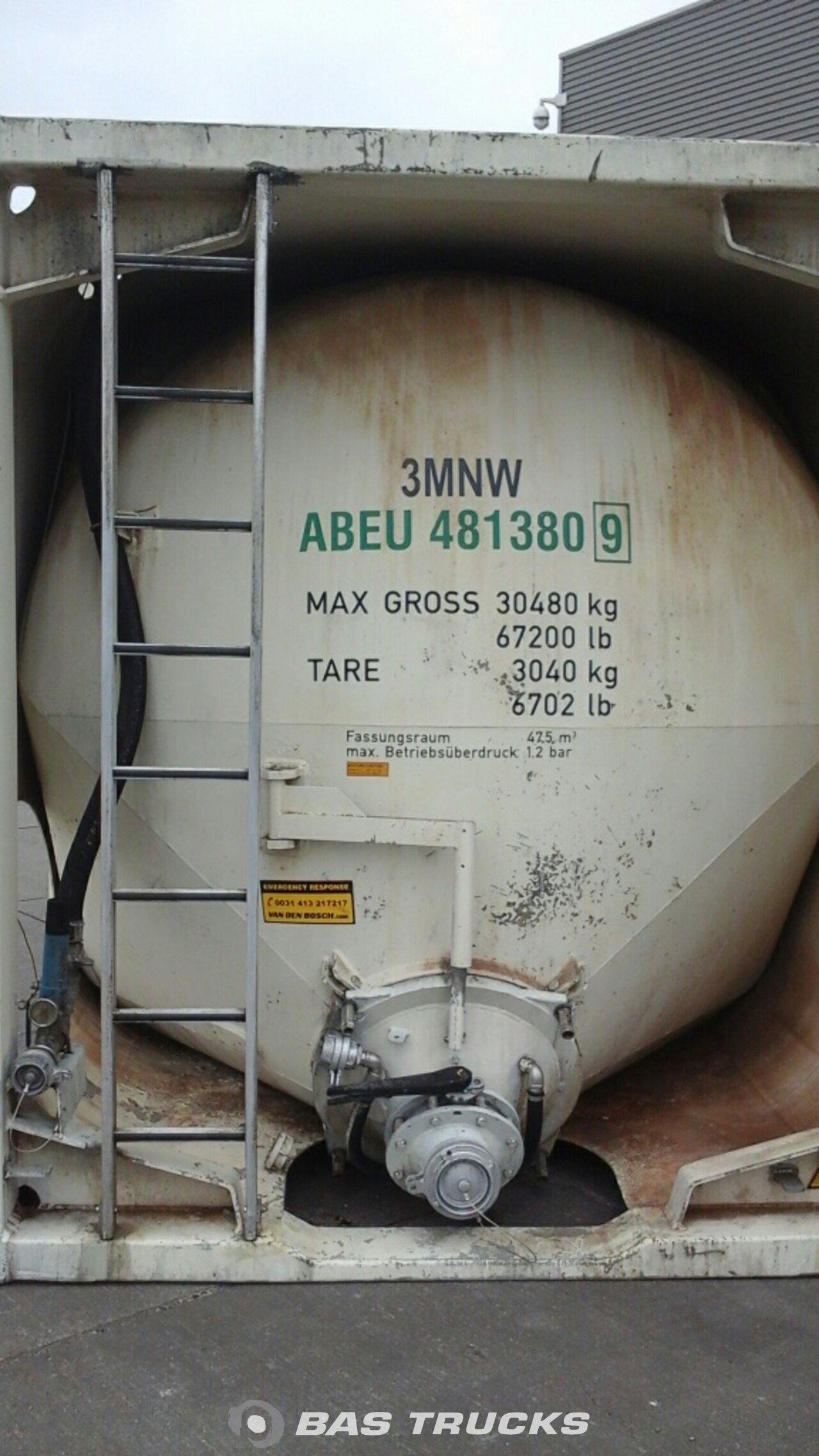 foto di Usato Container Zeppelin 30Ft Silo Powder Bulkcontainer pressure 48000Ltr 30ft 1990