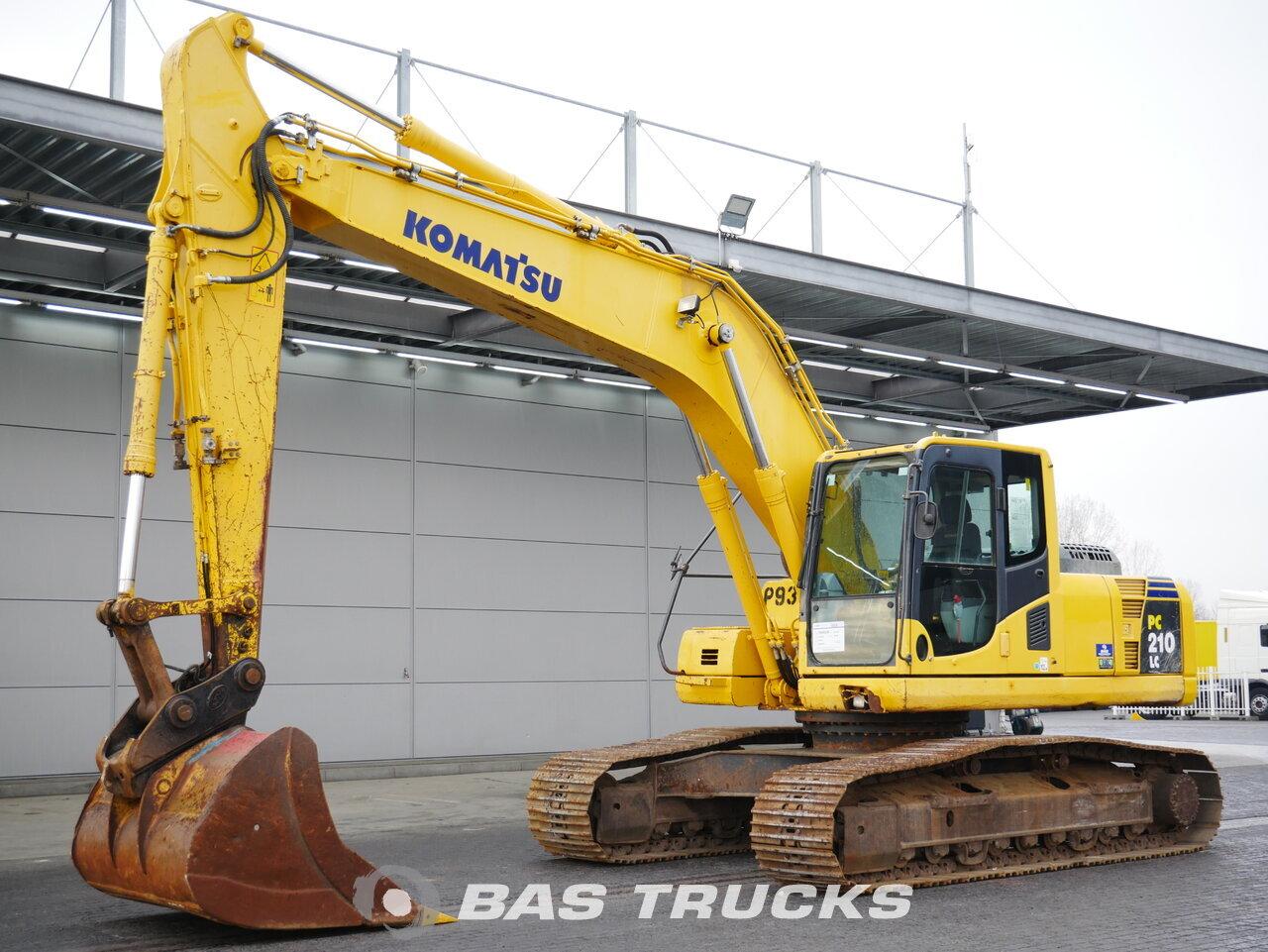 foto di Usato Macchine Movimento Terra Komatsu PC210 Track 2012
