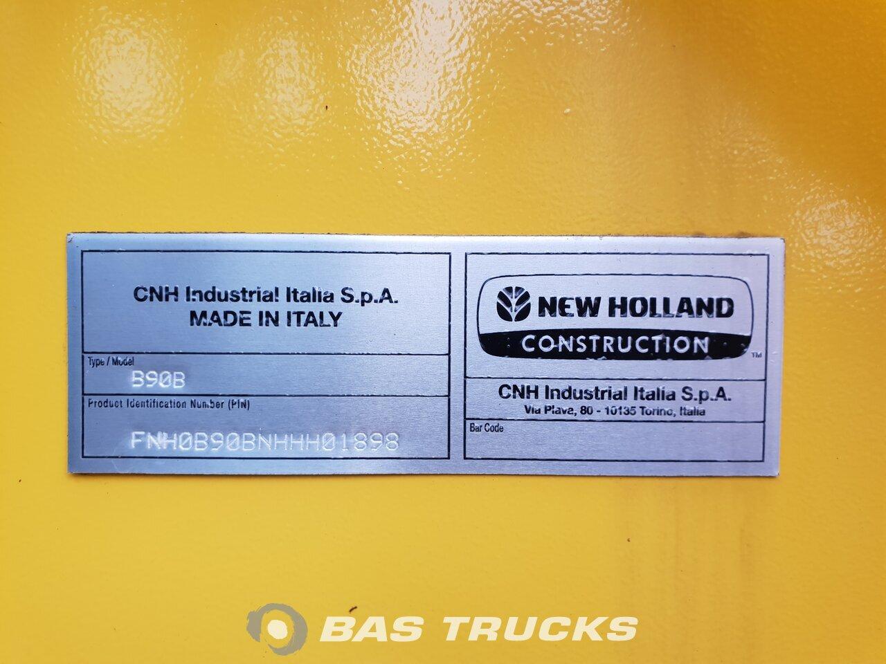 foto di Usato Macchine Movimento Terra New Holland B90B 4X4 2018