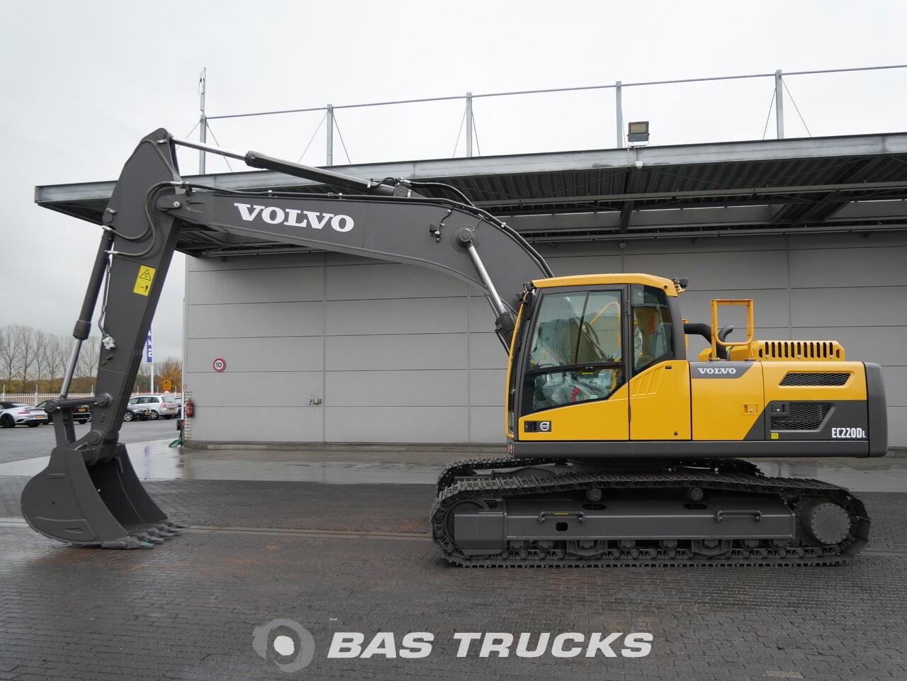 foto di Usato Macchine Movimento Terra Volvo EC220 DL Track 2018