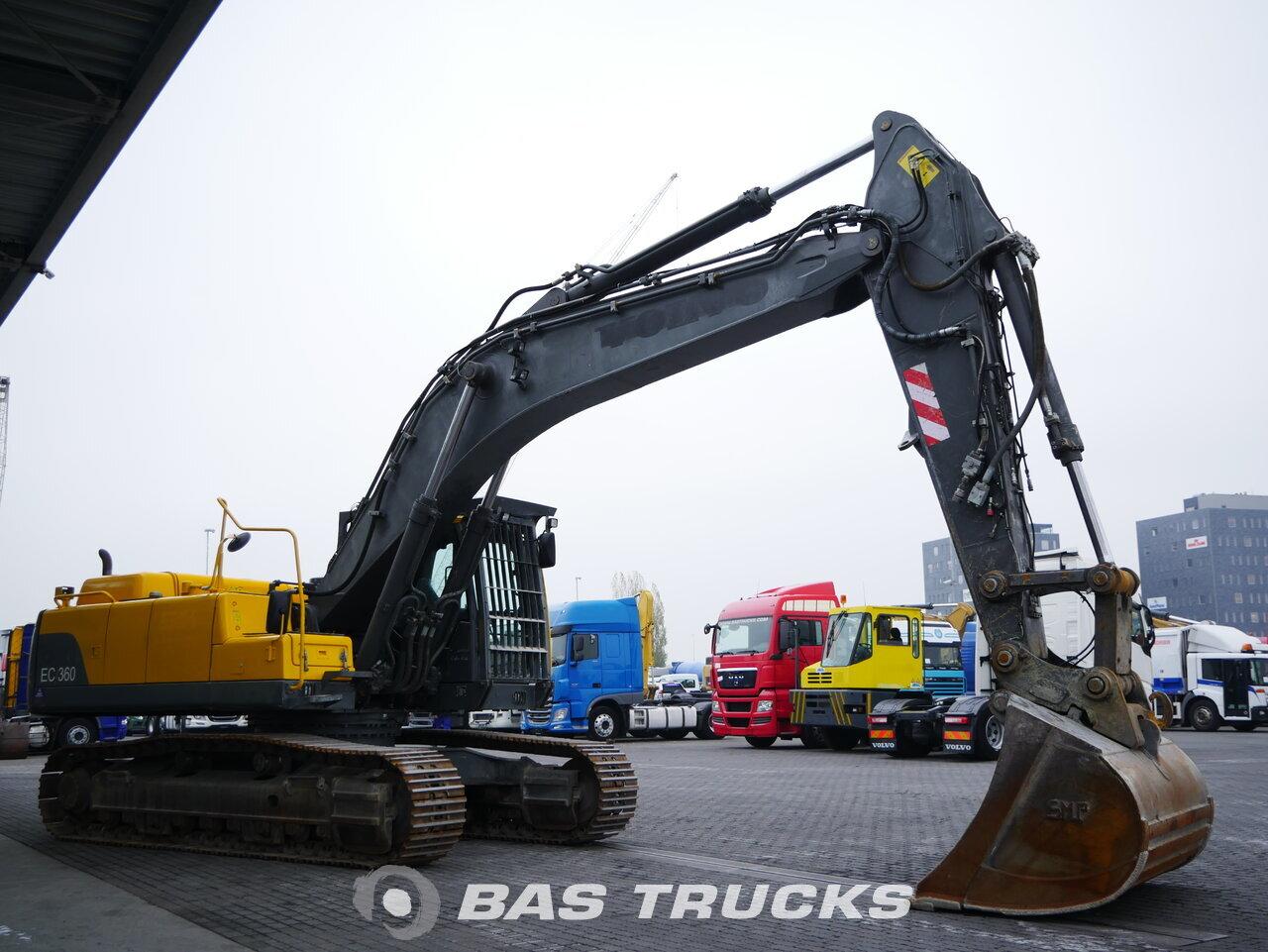 foto di Usato Macchine Movimento Terra Volvo EC360 C Track 2008