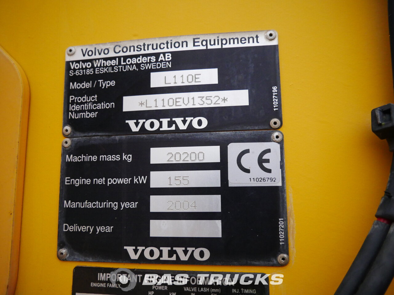 foto di Usato Macchine Movimento Terra Volvo L110E 4X4 2004