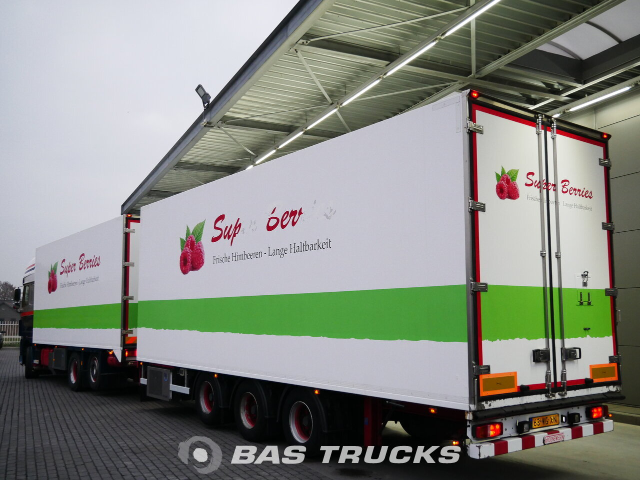 foto di Usato Motrice + Rimorchio DAF XF105.460 SSC 6X2 2011