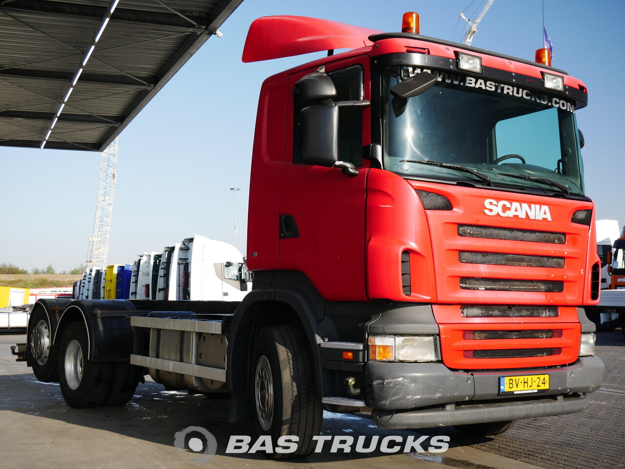foto di Usato Motrice Scania R380 6X2 2008
