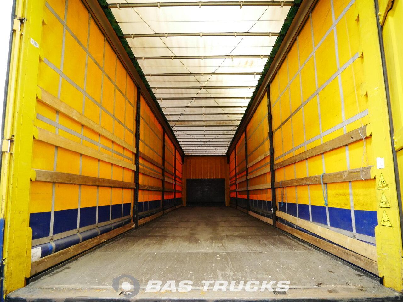 foto di Usato Semirimorchio Krone SD Edscha BPW assi 2012