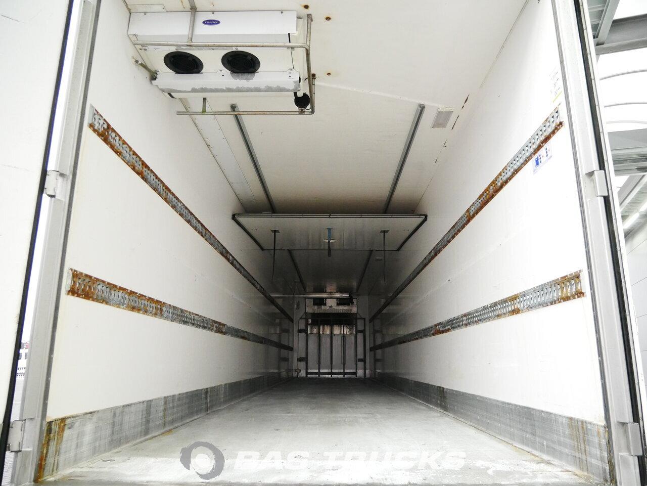 foto di Usato Semirimorchio Lecsor Carrier Vector 1850mt Bi-temp Multitemp Doppelverdampfer Trennwand assi 2011