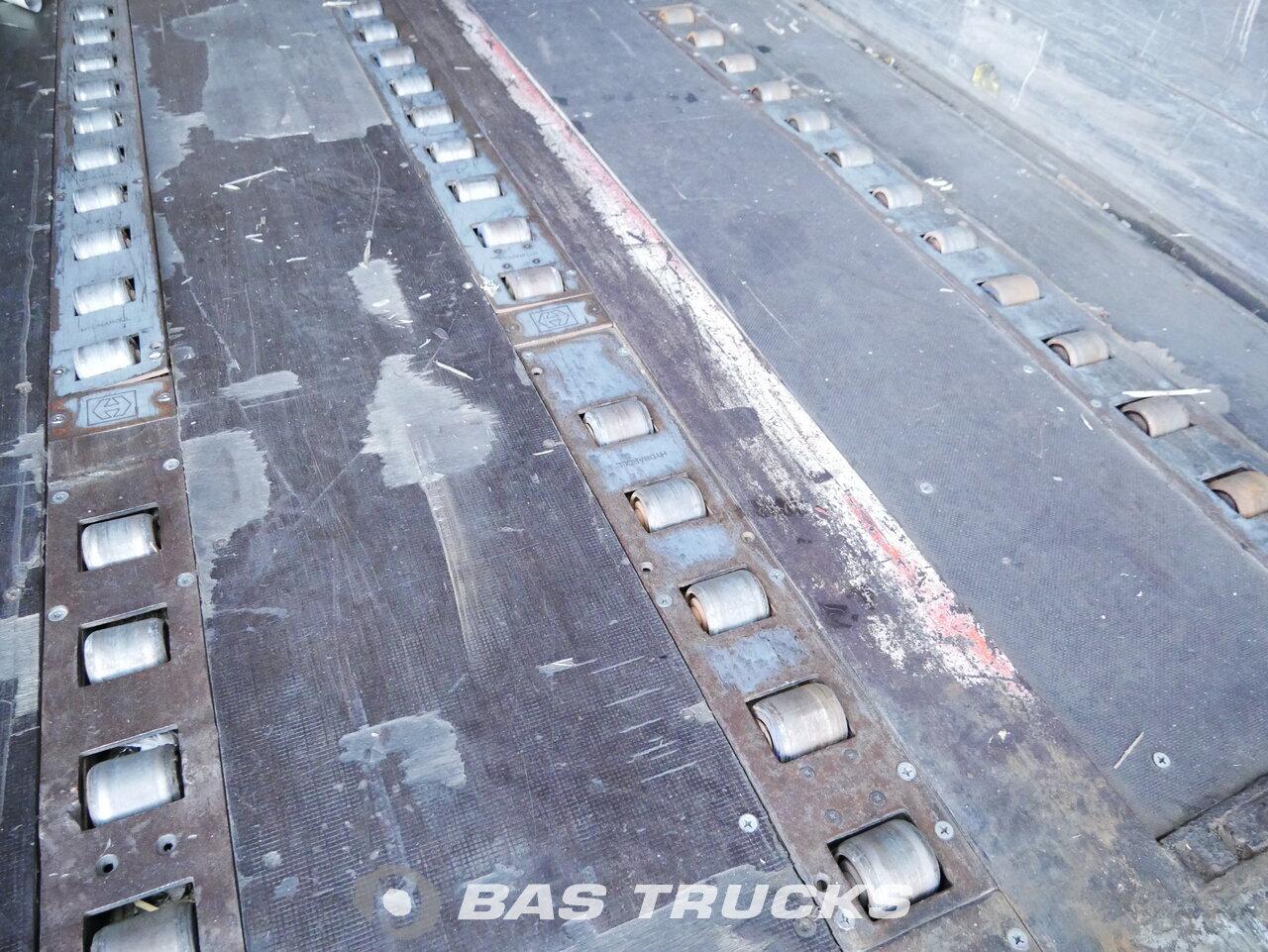 foto di Usato Semirimorchio Talson Mega Bordwande Luftfracht Hydraroll assi 2006