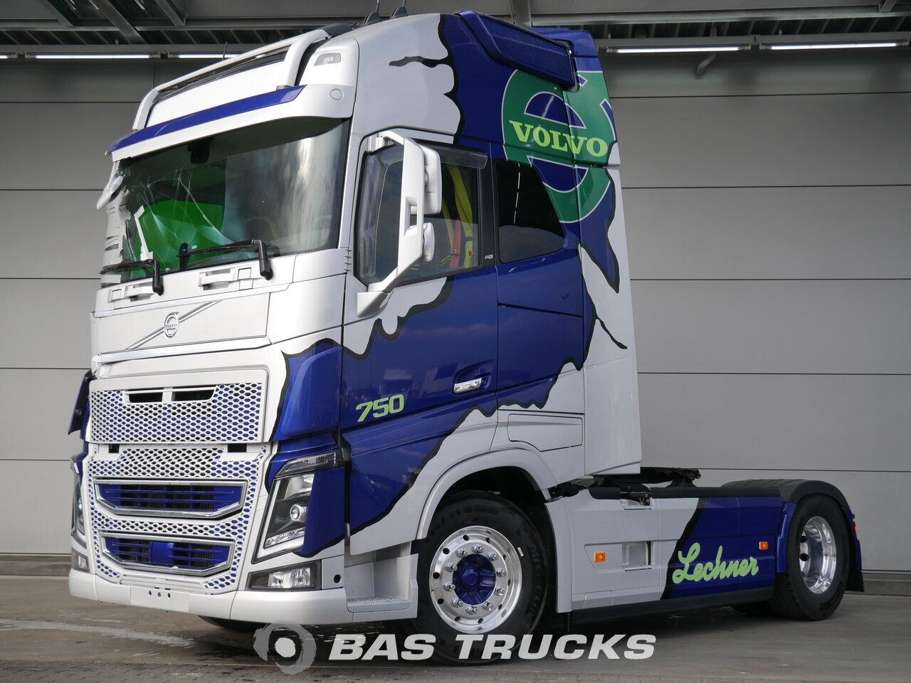 volvo fh16 750 xl unfall fahrbereit trattore euro 6 €87600 - bas