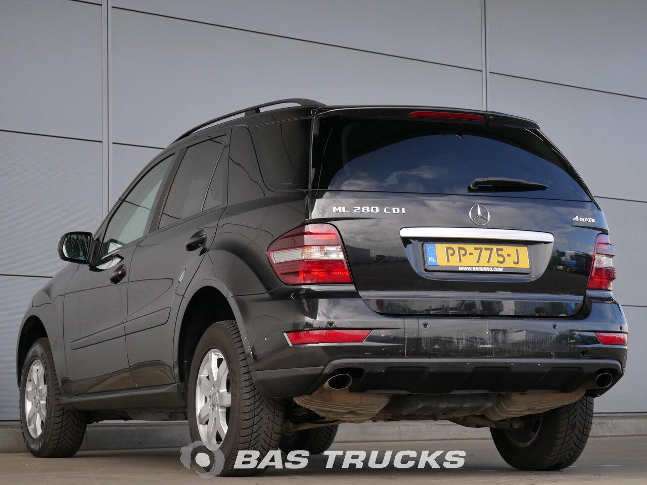 mercedes ml 280 cdi 4matic automobil euro norma 0 13600 bas trucks. Black Bedroom Furniture Sets. Home Design Ideas