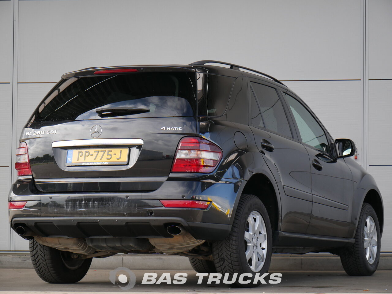 mercedes ml 280 cdi 4matic car euro norm 0 13500 bas trucks. Black Bedroom Furniture Sets. Home Design Ideas