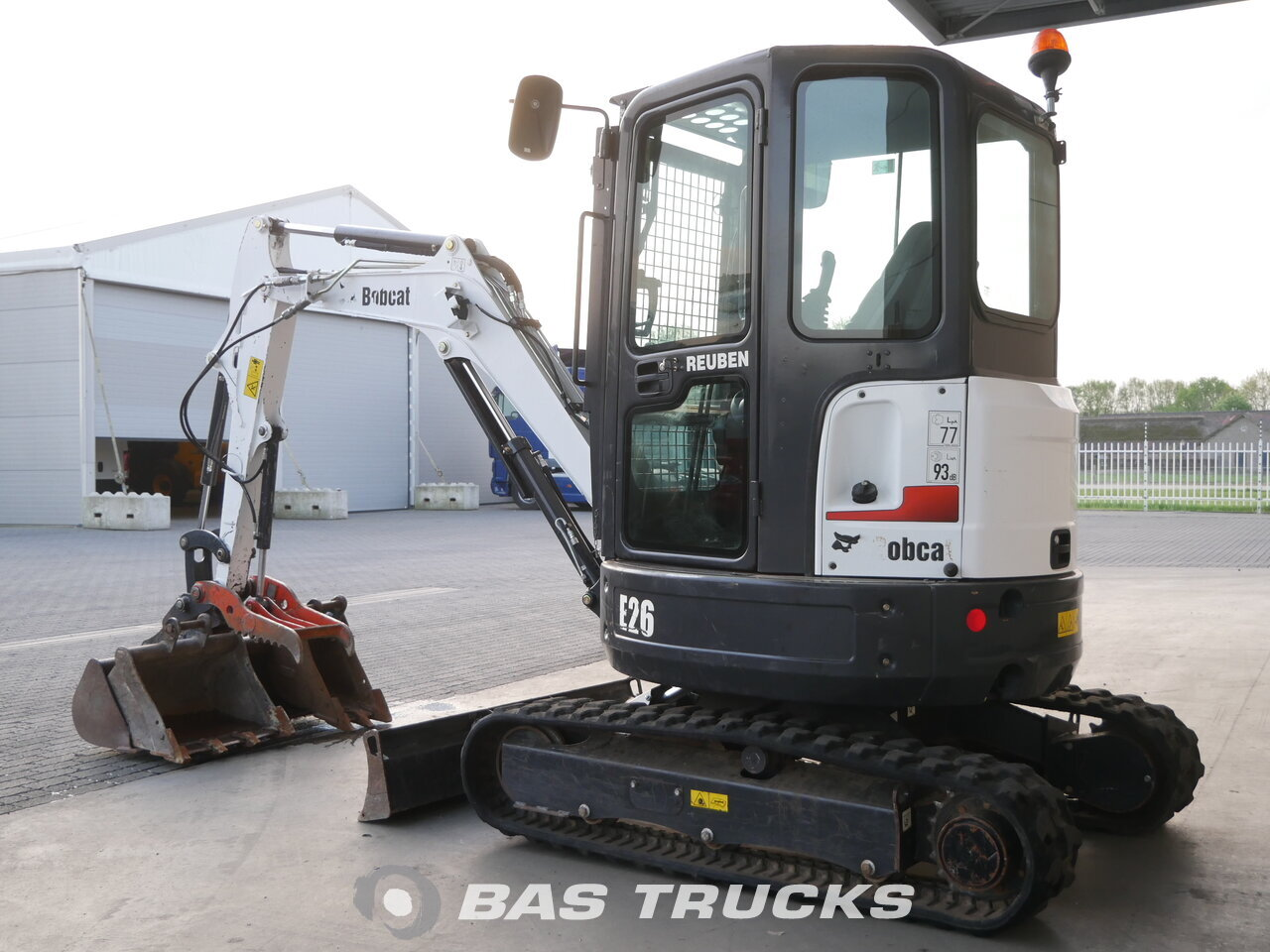 photo of Used Construction equipment Bobcat E26 Track 2015