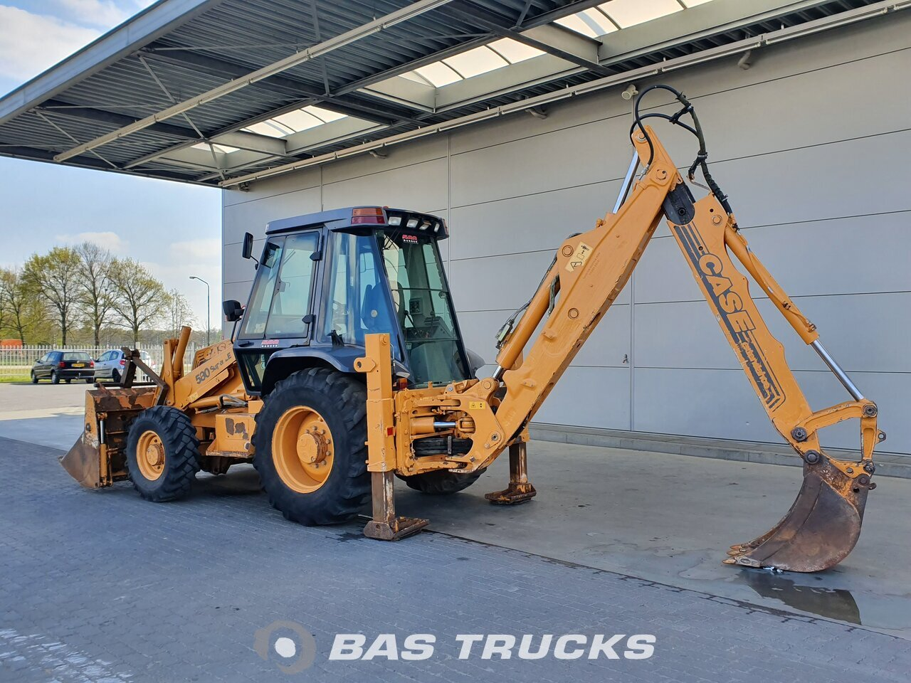 For sale at BAS Trucks: Case 580 SLE 4X4 01/1999