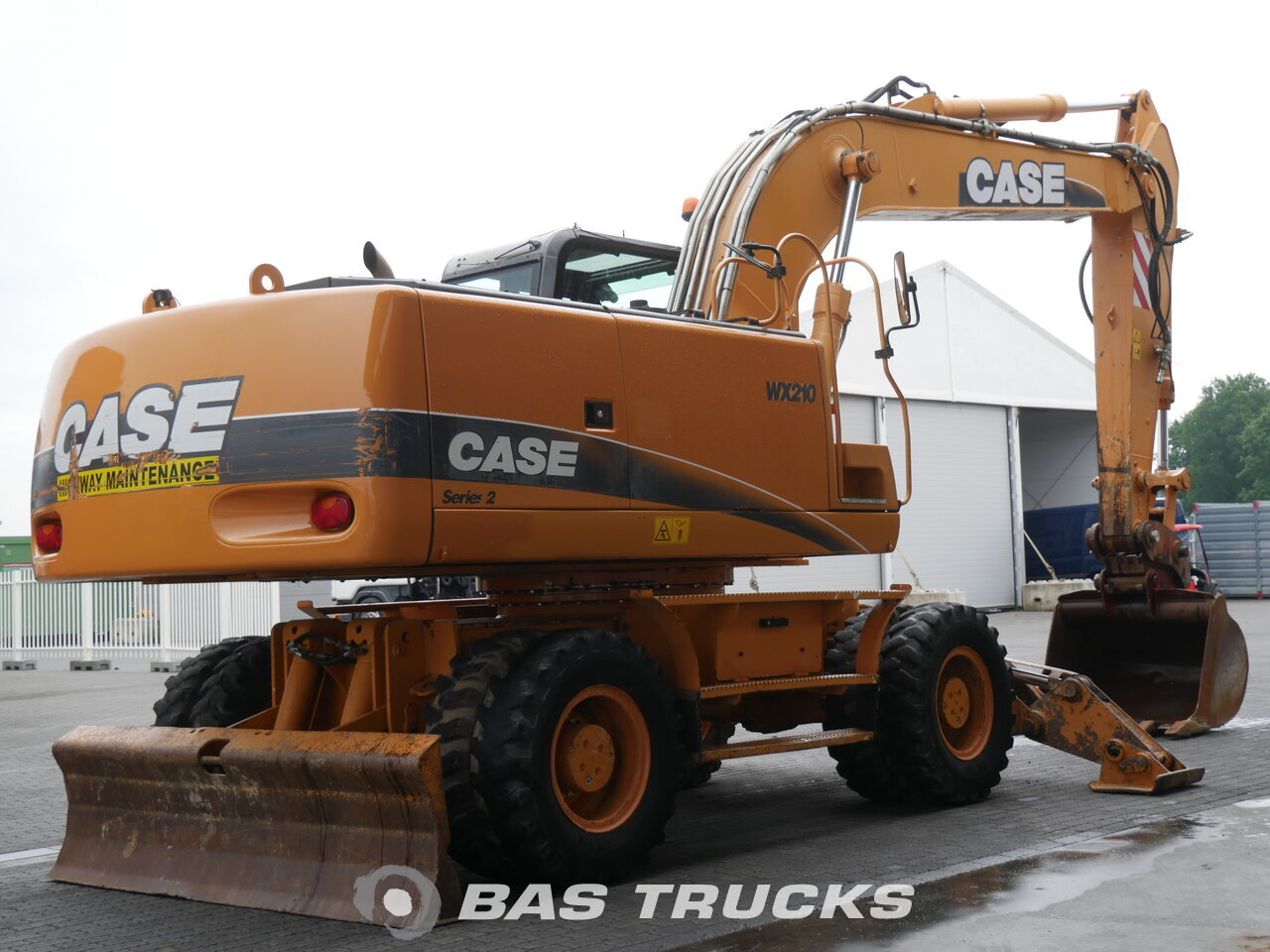 photo of Used Construction equipment Case WX210 4X4 2008