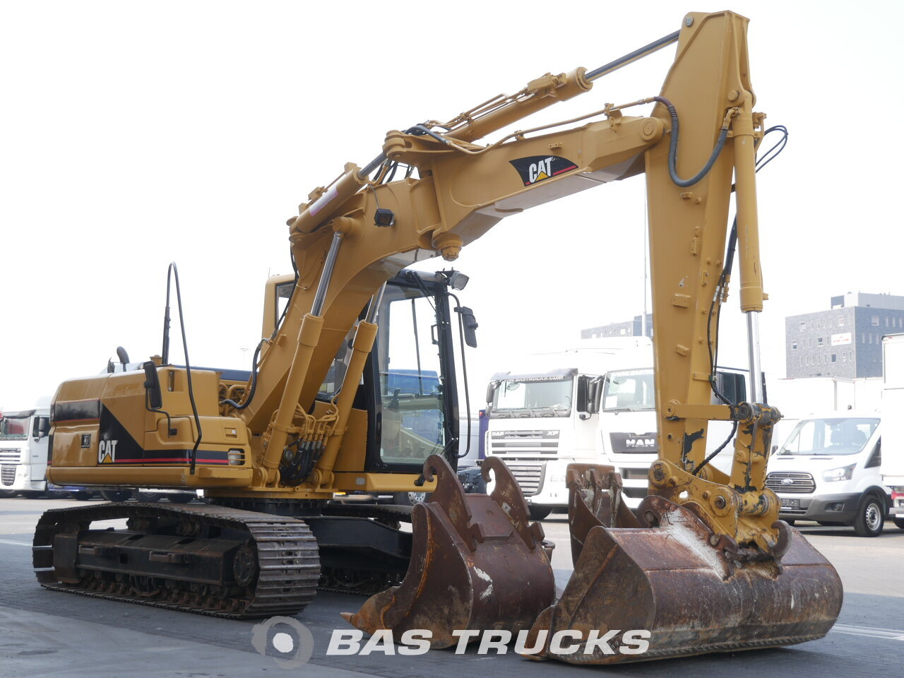 photo of Used Construction equipment Caterpillar 312B Track 2000