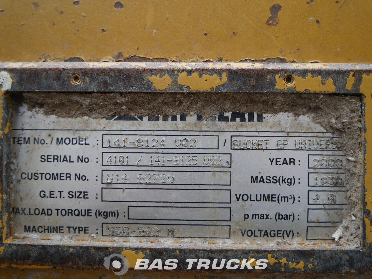 photo of Used Construction equipment Caterpillar 950H 4X4 2008