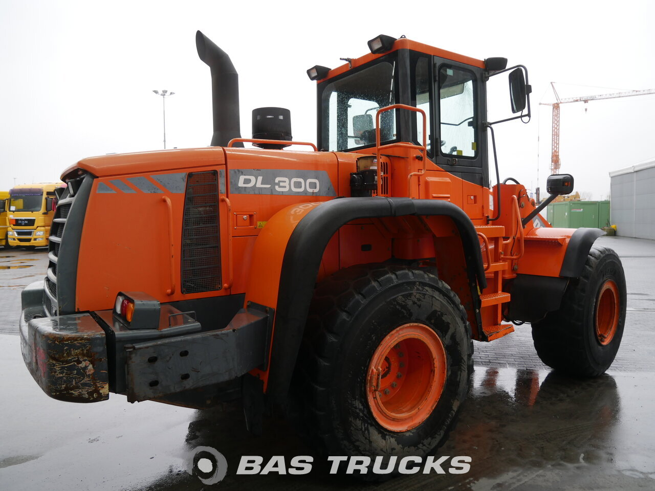 photo of Used Construction equipment Doosan DL 300 4X4 2010
