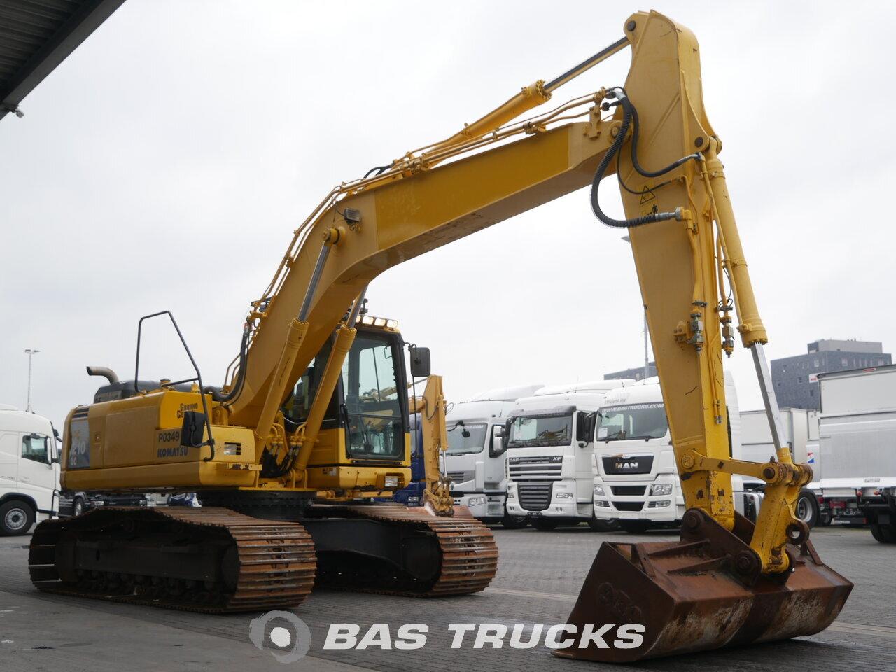 photo of Used Construction equipment Komatsu PC210LC Track 2008