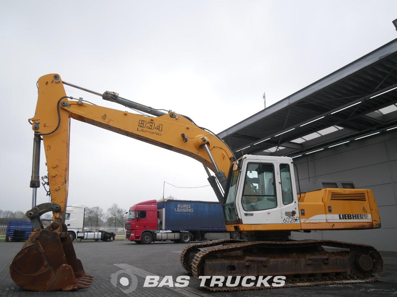 photo of Used Construction equipment Liebherr R934BHDS Litronic Track 2003