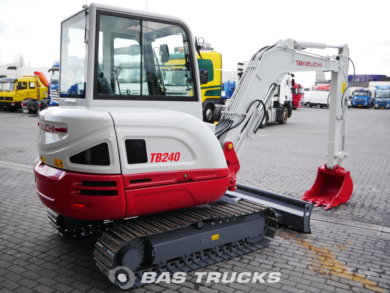 For sale at BAS Trucks: Takeuchi TB240 Track 01/2018