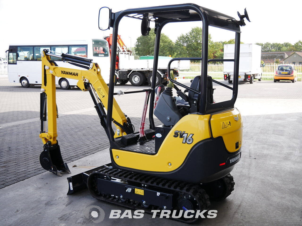For sale at BAS Trucks: YANMAR SV16 Track 01/2018