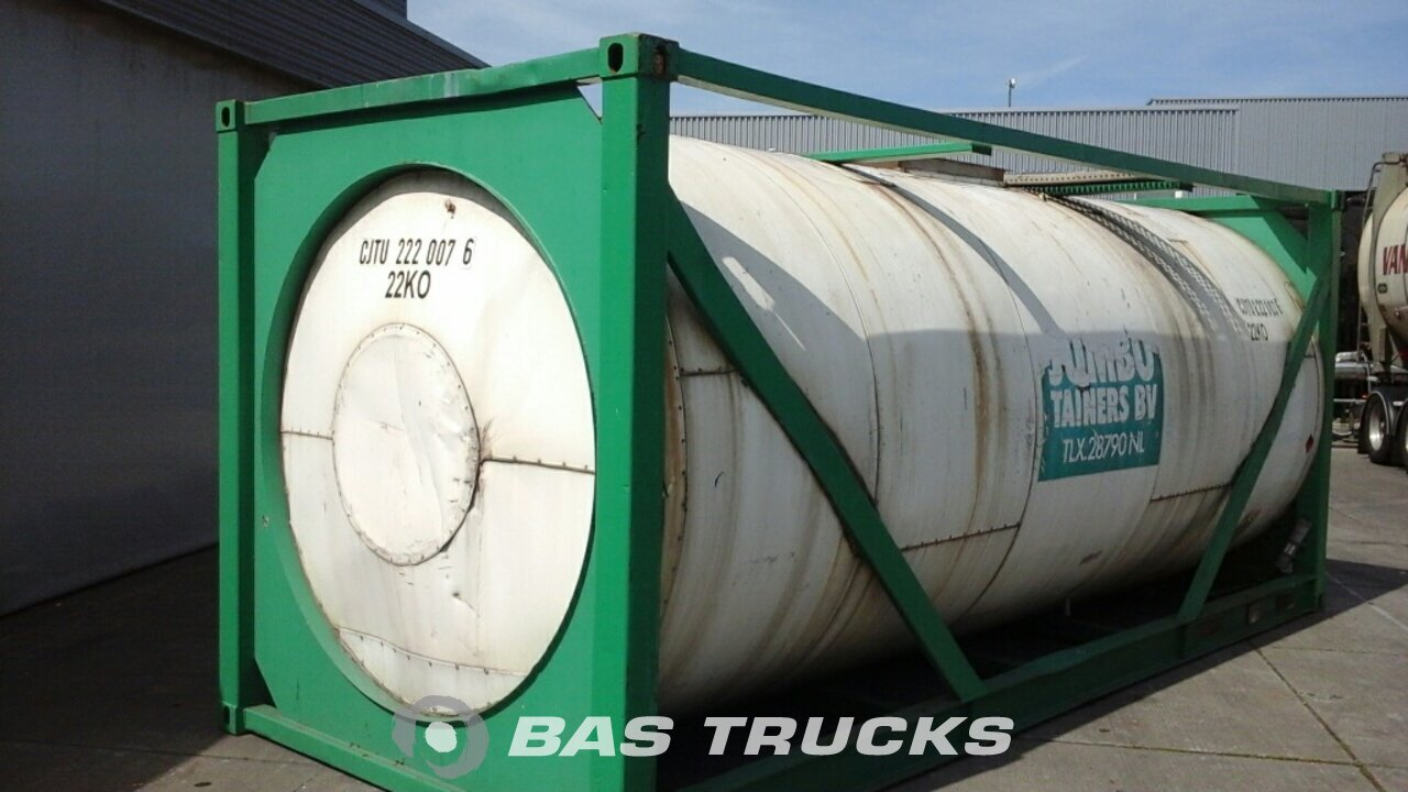 photo of Used Containers BSL 20Ft Tankcontainer 24000Ltr 20ft 1983