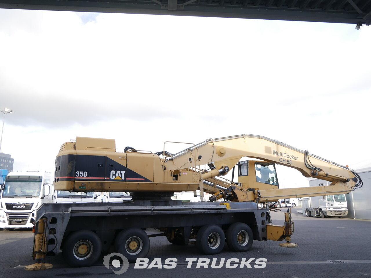 Fénykép: Used Građevinski strojevi Caterpillar Multidocker CH55 8X4 1998