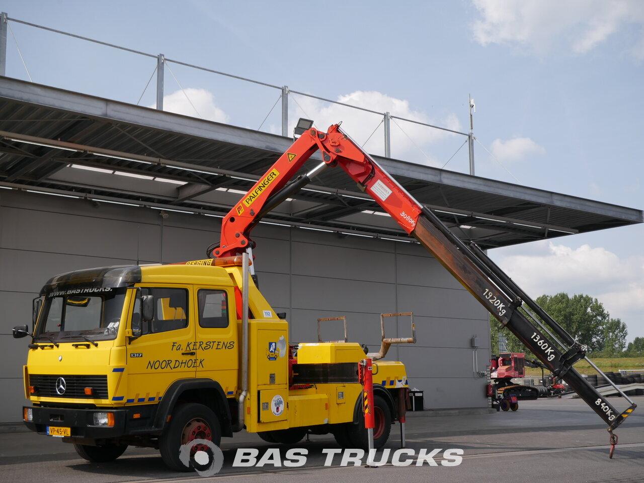 Fénykép: Used Kamion Mercedes 1317 L 4X2 1992