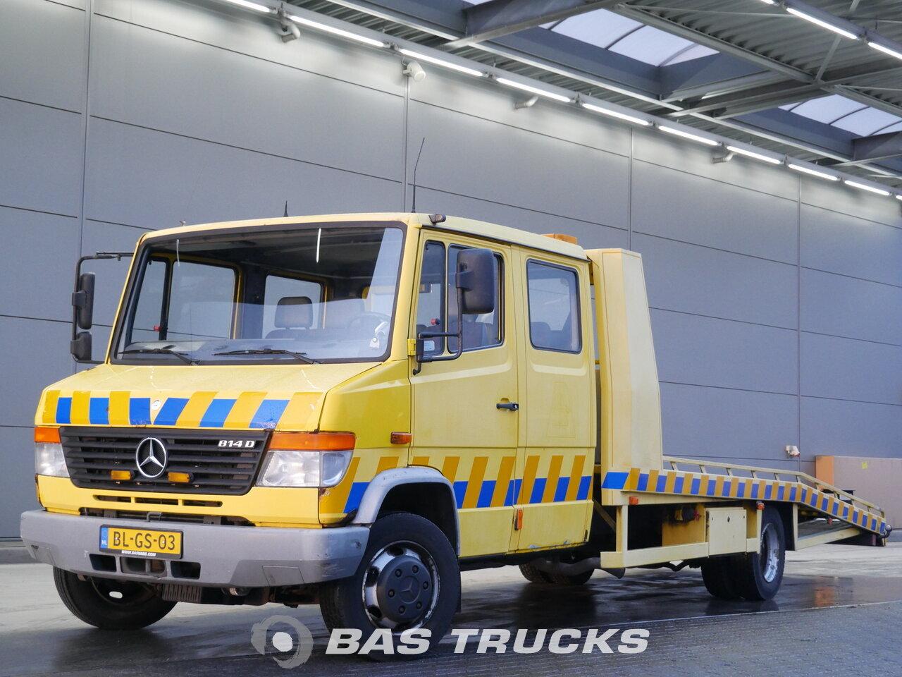 Fénykép: Used Kamion Mercedes Vario 814D 4X2 2001