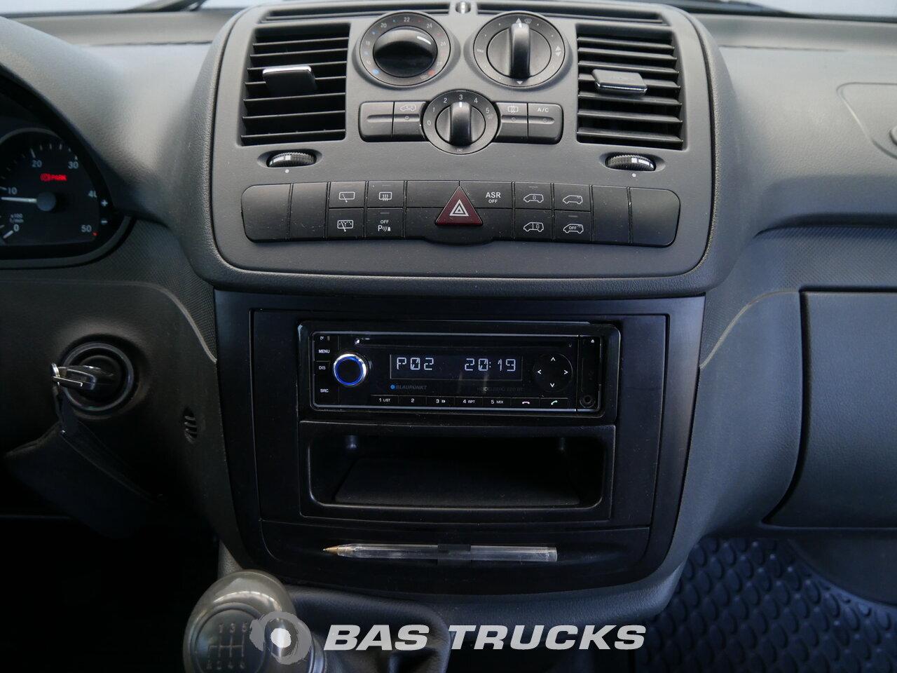 Mercedes Vito Light Commercial Vehicle 10400 Bas Trucks