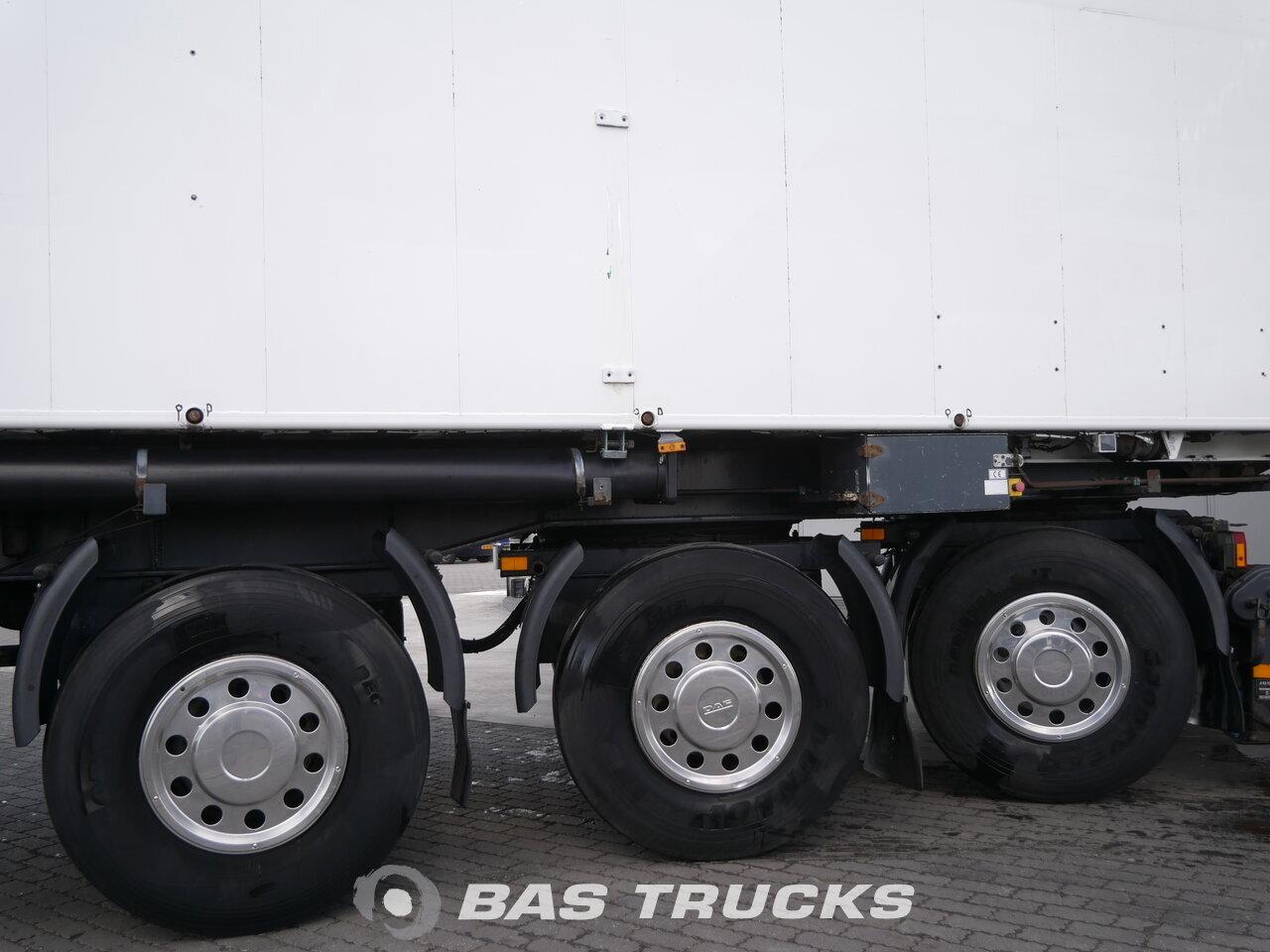 photo of Used Semi-trailer Bulthuis 50m3 Lift+2x Lenkachse TSTA 27 3 Axels 2002