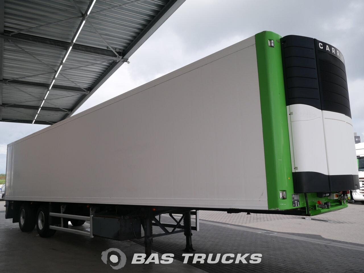 photo of Used Semi-trailer Floor Lenkachse Doppelverdampfer Ladebordwand FLO-12-20K1 Axels 2002