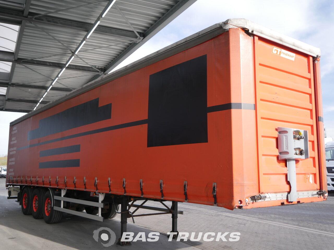 photo of Used Semi-trailer Fruehauf Liftachse Hartholz-Bodem Axels 2000