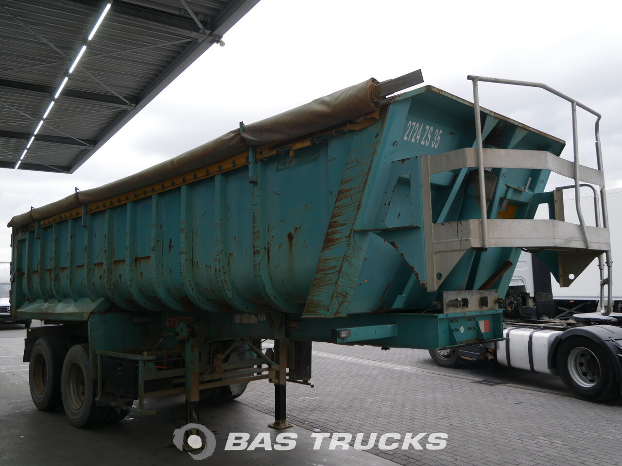 photo of Used Semi-trailer General Trailer 22m3 Benne Axels 2002