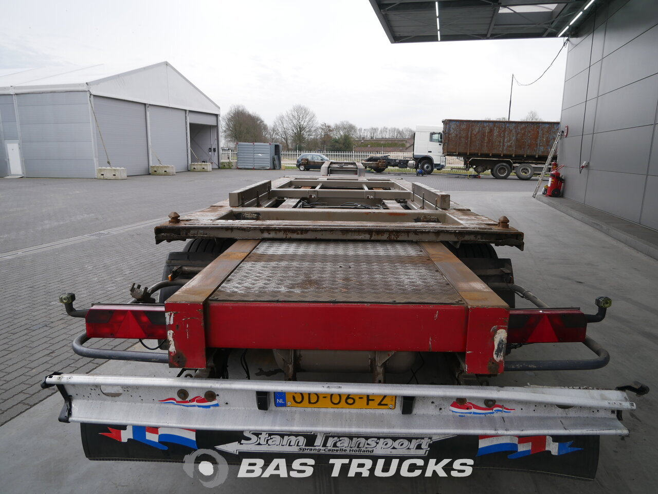 photo of Used Semi-trailer H.F.R. SC.240 2x20 ft. 1x 40ft. BPW Liftachse Axels 1993