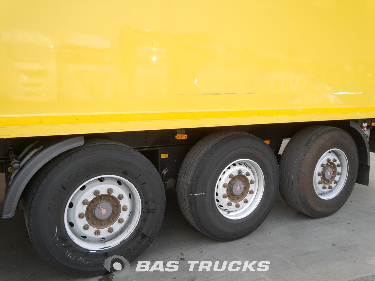 photo of Used Semi-trailer Hertoghs Hartholz-Boden O3 3 Axels 2008