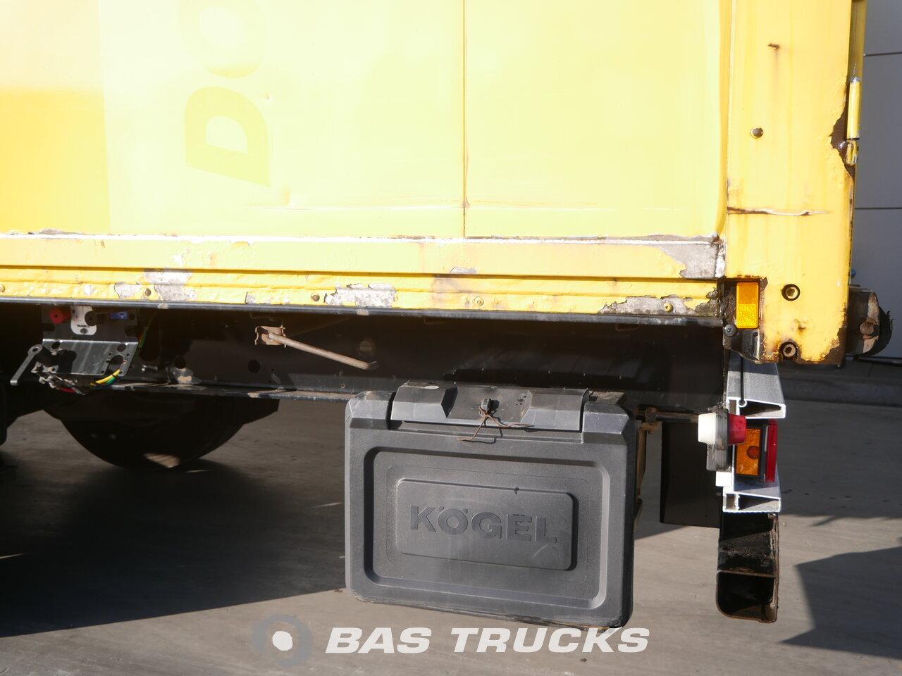 photo of Used Semi-trailer KOGEL Doppelstock Isoliert S24 3 Axels 2008