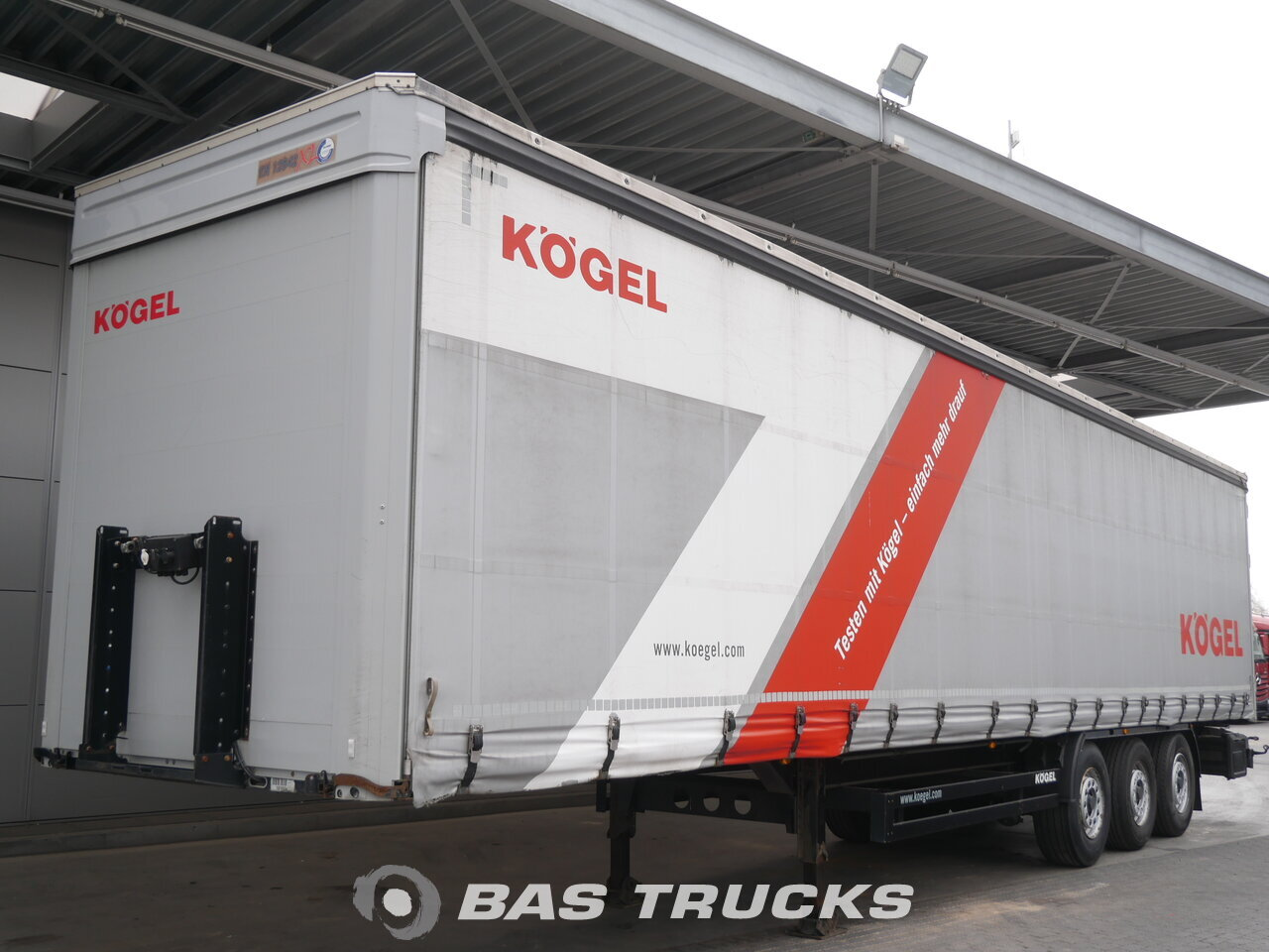 photo of Used Semi-trailer KOGEL SN 24 Axels 2013