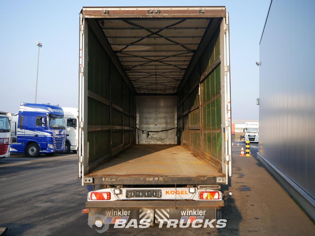photo of Used Semi-trailer KOGEL SN 24 Dortmund-DE Axels 2011