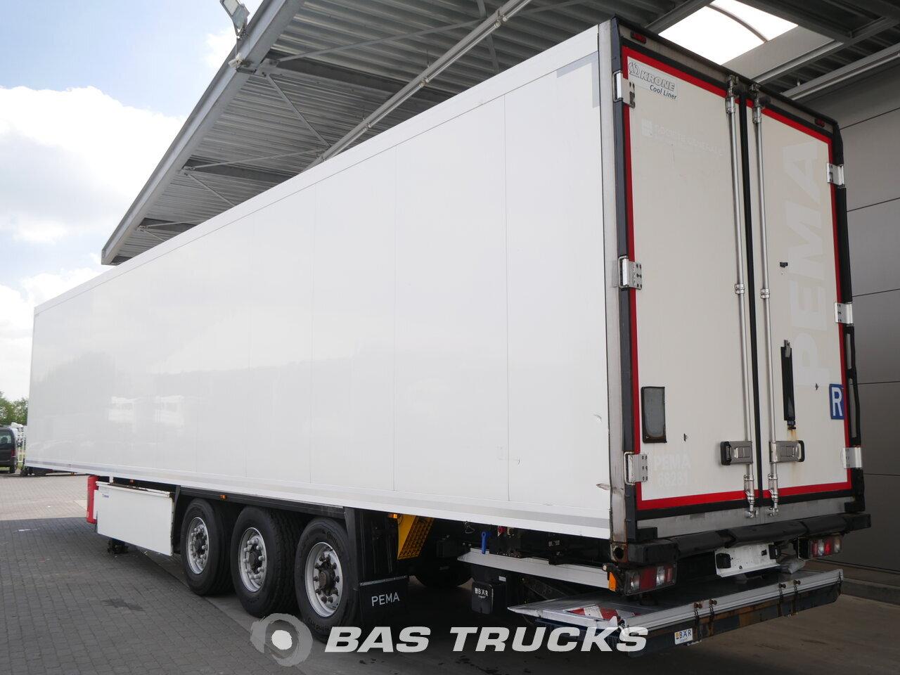 photo of Used Semi-trailer Krone Doppelstock Ladebordwand TK SLX-300 4007 Hours Axels 2012