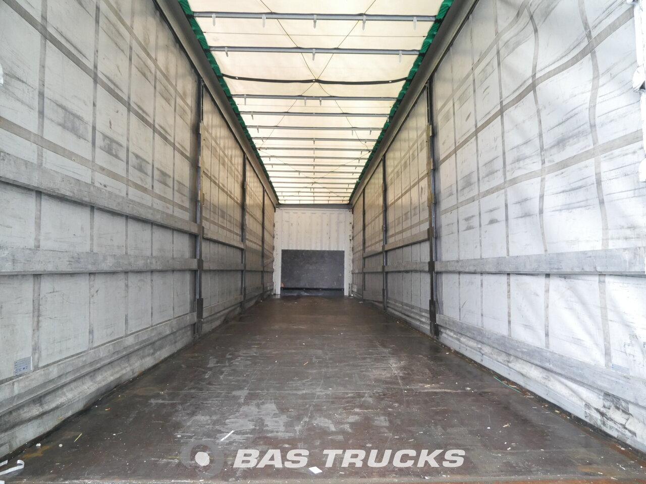 photo of Used Semi-trailer Krone Liftachse Mega Hubdach SD 3 Axels 2014