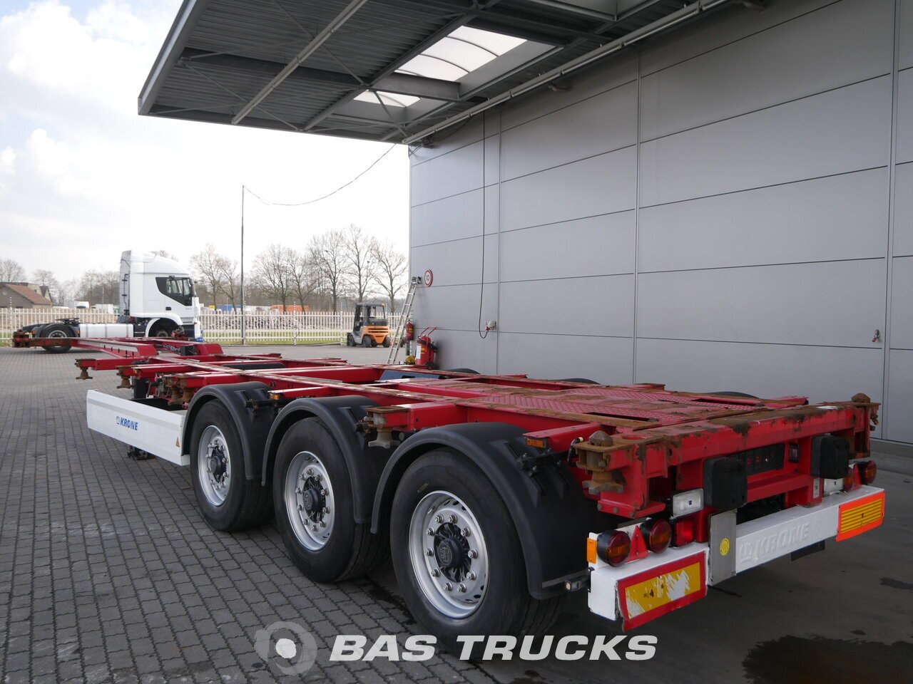 photo of Used Semi-trailer Krone Liftachse SD Axels 2011