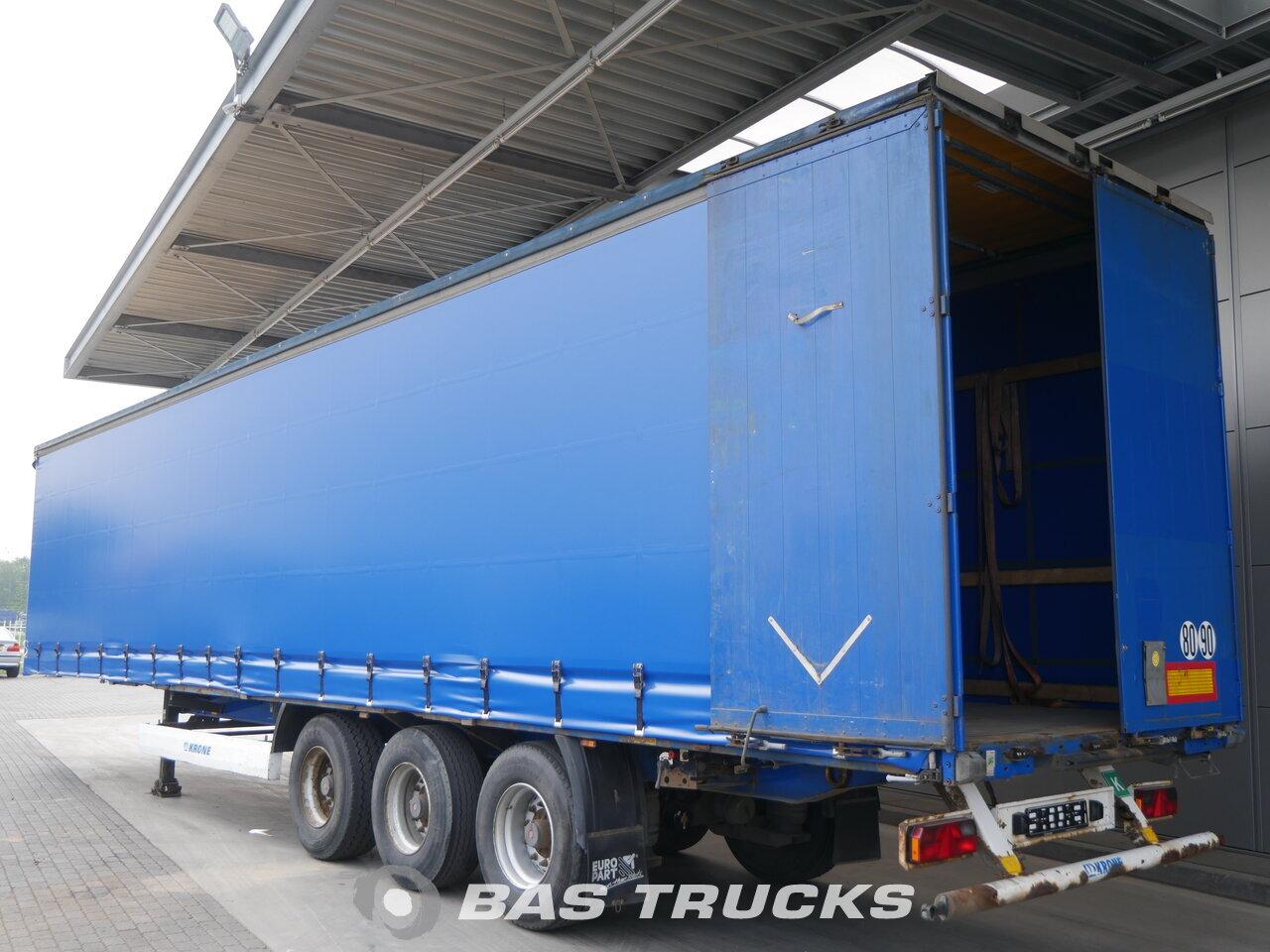 photo of Used Semi-trailer Krone SDP 27 Dortmund-DE Axels 2010